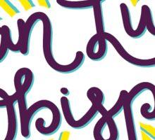 San Luis Obispo Bright Colors Sticker
