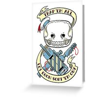 GHOSTBYSTER Greeting Card