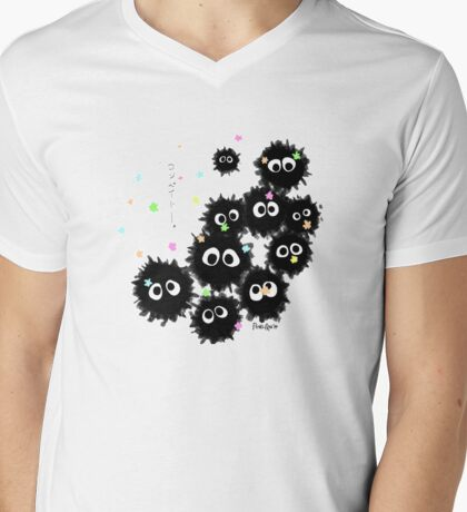Soot Sprites Mens V-Neck T-Shirt