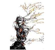 Dark Souls burning power Photographic Print