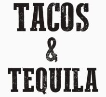 Tacos and Tequila Kids Tee