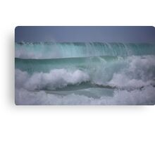 Rolling swell Canvas Print
