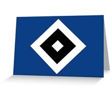 Hamburger SV Badge 2016 Greeting Card