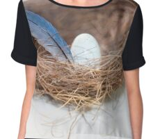 Love nest Chiffon Top