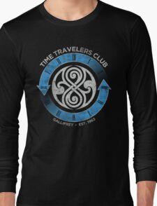 time traveler s club gallifrey Long Sleeve T-Shirt