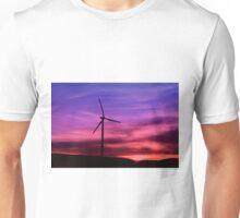 Sunset Windmill Unisex T-Shirt