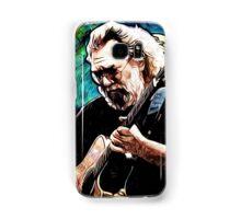"Jerry Garcia- ""Birdsong"" Grateful Dead image Samsung Galaxy Case/Skin"