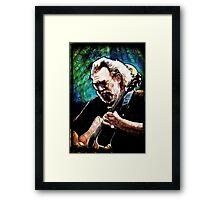 """Jerry Garcia- """"Birdsong"""" Grateful Dead image Framed Print"""