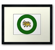 Rhodesian Air Force Roundel Framed Print