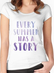 Every Summer has a Story Women's Fitted Scoop T-Shirt
