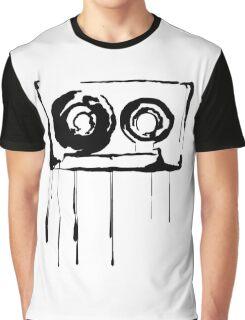 Splatter Cassette (black) Graphic T-Shirt