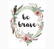 Be Brave Design Kids Tee