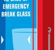 Emergency Toilet Sticker