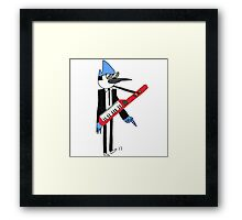 Mordecai The power Framed Print