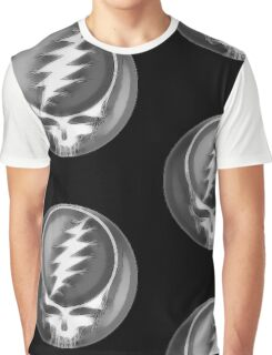 """Grateful Dead """"Fare Thee Well"""" Steal Your Face GD50 Stealie Graphic T-Shirt"""
