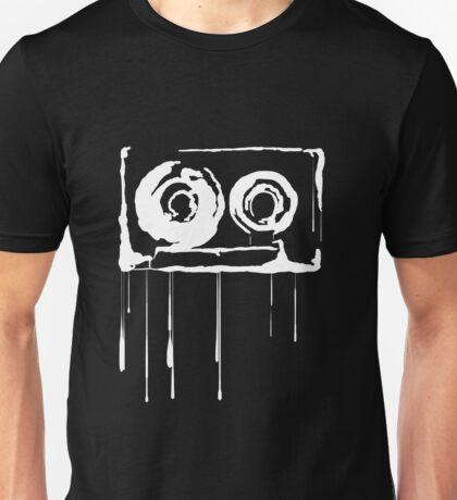 Splatter  Cassette (white) Unisex T-Shirt
