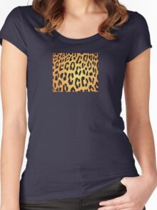 Cheetah Skin Women's Fitted Scoop T-Shirt