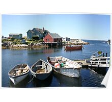 Peggy's Cove, Nova Scotia Poster