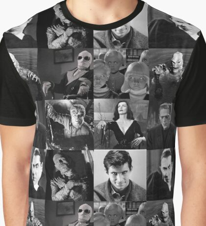 Best of Black and White Graphic T-Shirt