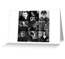 Best of Black and White Greeting Card