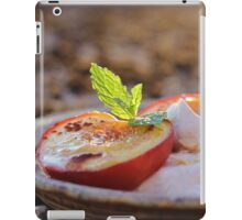 Cinnamon Baked Nectarines iPad Case/Skin