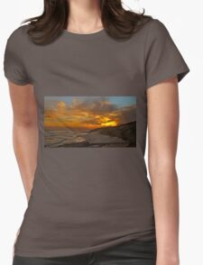 1030 Point Lonsdale Sunset Womens Fitted T-Shirt