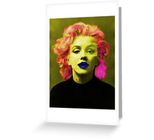 Paradox of Marylin Monroe  Greeting Card