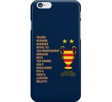 Barcelona 2006 Champions League Final Winners iPhone Case/Skin