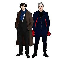 Sherlock and The Doctor Photographic Print