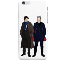 Sherlock and The Doctor iPhone Case/Skin