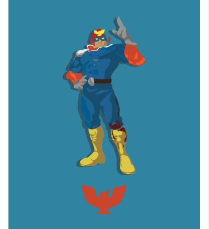 Captain Falcon Blue/Orange - Super Smash Brothers Sticker
