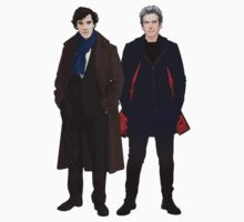 Sherlock and The Doctor Baby Tee