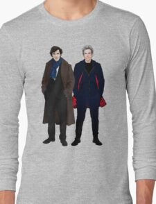 Sherlock and The Doctor Long Sleeve T-Shirt