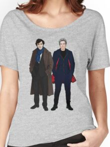 Sherlock and The Doctor Women's Relaxed Fit T-Shirt