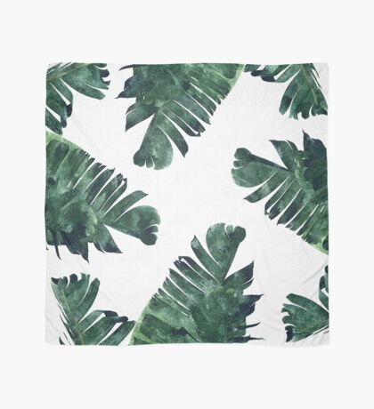 Banana Leaf #Watercolor Pattern #redbubble Scarf