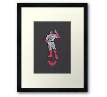 Captain Falcon Pink - Super Smash Brothers Framed Print