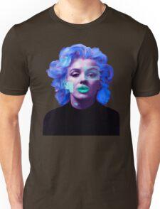 Paradox of Marylin Monroe (purple) Unisex T-Shirt