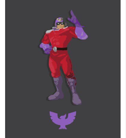Captain Falcon Purple - Super Smash Brothers Sticker