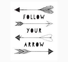 Follow Your Arrow One Piece - Long Sleeve