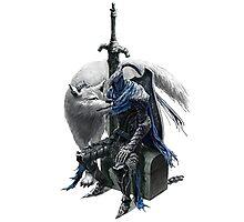 Dark Souls wolf time Photographic Print