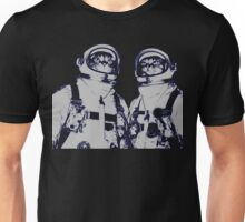 Space Cats And The Moon Unisex T-Shirt