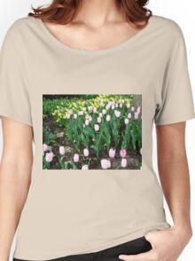 Tulips and Daffodils - Keukenhof Gardens Women's Relaxed Fit T-Shirt