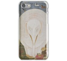 ITO Jakuchu - Animals in the Flower garden . Japanese Landscape . Elephant iPhone Case/Skin