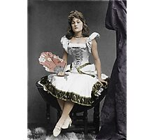 Vaudeville performer Photographic Print