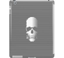 Stripy Skull iPad Case/Skin