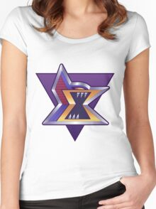 Maverick Logo Reworked Women's Fitted Scoop T-Shirt