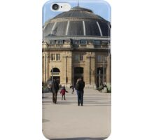 A Large European Building On A Sunny Day iPhone Case/Skin