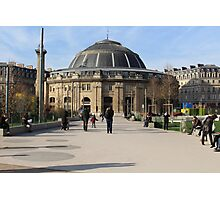 A Large European Building On A Sunny Day Photographic Print