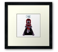 Magneto Started Following Apocalypse Framed Print