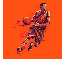 Basketball Art Photographic Print